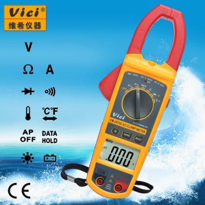 维希Vici CM-2070C 带非接触交流电压感应(NCV功能)数字钳形表