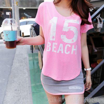 韩国代购正品夏装新款女装品牌Pinksisly-PS120343-T恤