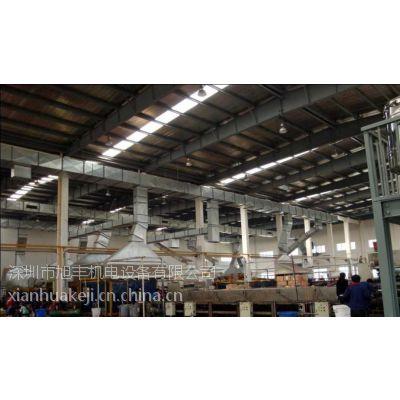 供应电子科技车间焊锡工位排烟/白铁管道/中压风机排烟/吸烟罩/软管