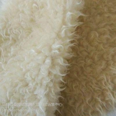 厂家直销纬编涤纶96F 仿羊毛 库存处理服装用布