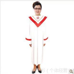 供应基督教诗班圣服长袖北京游彬之家圣诗袍圣诗服教会服装热销A006