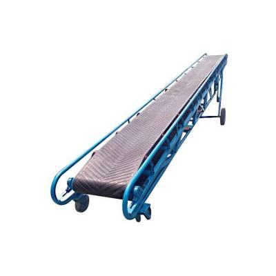 按需设计特殊规格皮带机 平板埋托辊式输送机 低成本高效率