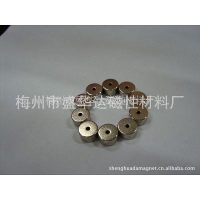 供应D8*D3*5 N38 镀镍 钕铁硼径向圆环