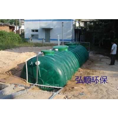 江西卫生服务中心污水装置可埋地下不占地,弘顺创造卫生城市必备