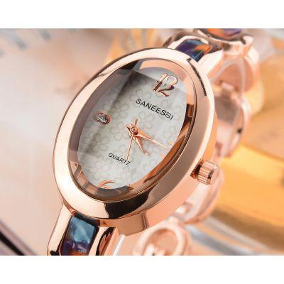 圣依时眼镜胶表壳时尚女士手表 日本进口机芯石英表 名表礼品表批发