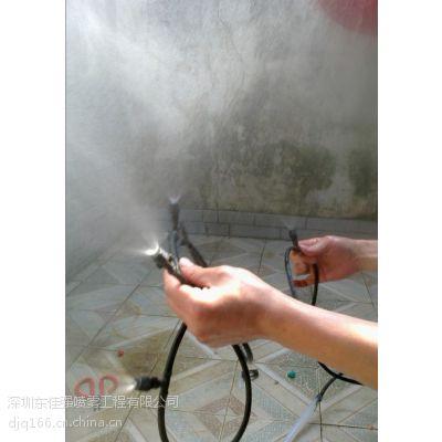 深圳东佳强街道垃圾站小区垃圾房异味除臭装置效果更清新