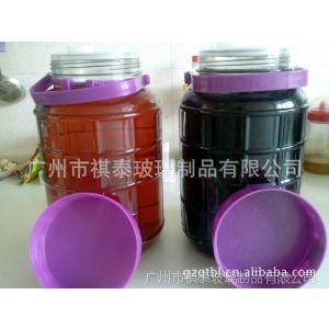 供应2013新款玻璃10升方格泡酒瓶,自酿酒瓶