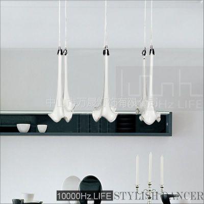 供应[万晟]玻璃灯吊灯具客厅餐厅灯书房灯卧室吊灯饰T3215