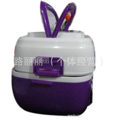 供应2012多功能电热饭盒 蒸煮米饭加热饭盒 煮蛋器 不锈钢 保温
