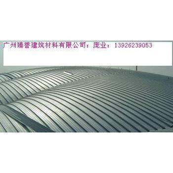 供应广州臻誉专业生产厂家供应铝镁锰65直立单锁边金属屋面板