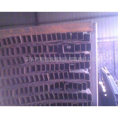 供应供应不等边小规格u型钢加厚u型钢河北厂家价格