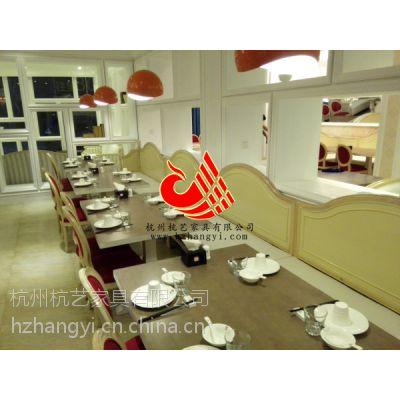 杭州西餐厅欧式软包餐椅/美式酒店家具酒店桌椅/餐饮业餐桌子/餐椅子制造