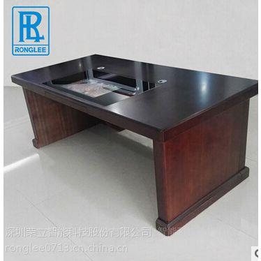 办公室办公桌/触摸一体机办公桌/智能办公触控电脑桌