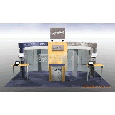 供应展览展台设计制作 展位设计 木结构 钢结构实用经济