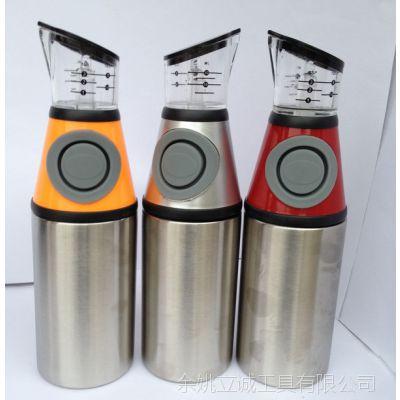2015新款爆款时尚创意不锈钢油壶 304不锈钢油壶 喷雾式油瓶