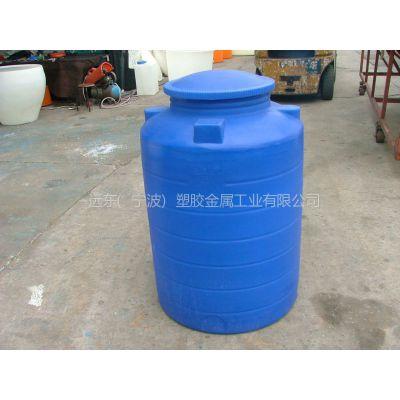 浙江慈溪滚塑厂家直销塑料水箱化工储罐圆柱形水箱
