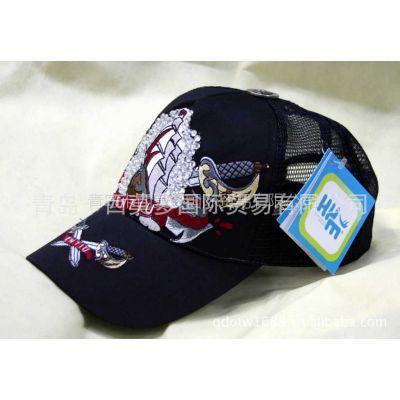 供应帽子批发 光纤发光棒球帽 日韩帽子 大刺绣LED发光帽 订做帽子
