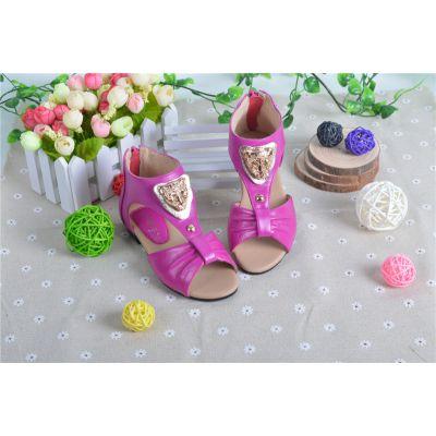 供应真皮2014童鞋 春款鞋 品牌童鞋 儿童凉鞋 女童凉鞋 童鞋一件代发