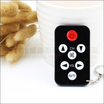迷你遥控器 迷你万能电视遥控器 超薄遥控器多功能遥控器外贸出口