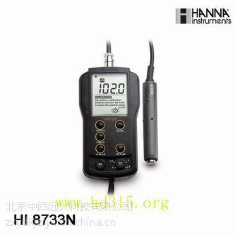 供应哈纳仪器专卖/便携式电导率仪(现货) 型号:HANNA HI8733 库号:M400117