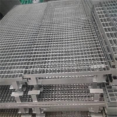 防滑钢格栅板,电厂防滑钢格栅板,电厂网格板