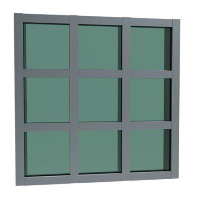 玻璃幕墙铝型材生产厂家