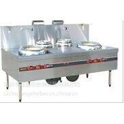 供应商用厨房炉灶 - 双炒双尾炉 - 不锈钢炉具设备|深圳鑫嘉华厨具设备