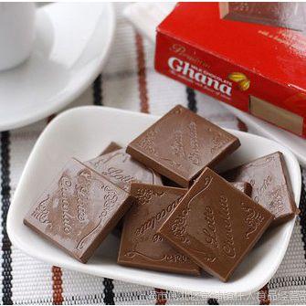 缺货 韩国进口食品  乐天加纳巧克力 红盒加纳巧克力 90g/盒 预售