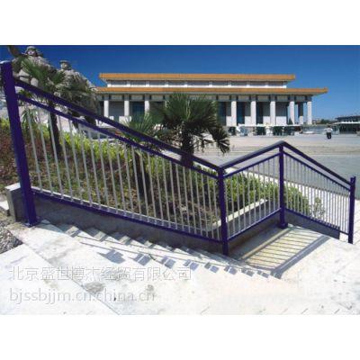 Q195山东省淄博市锌钢楼梯扶手、组装楼梯栏杆、别墅楼梯护栏,锌合金阳台栏杆,锌钢护栏