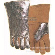 供应威特仕weldas耐高温手套|烧电焊手套|耐高温热流反射铝款10-2385