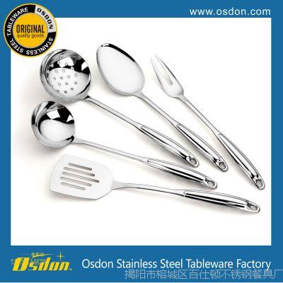 不锈钢厨具 高档厨房炒菜用具 烹饪勺铲套件 精美礼品套装