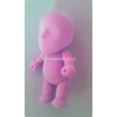 供应提供PVC塑胶娃娃公仔玩具植绒