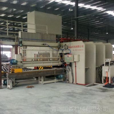 青岛国森机械超长尺寸的重组竹木复合板生产线工艺设备