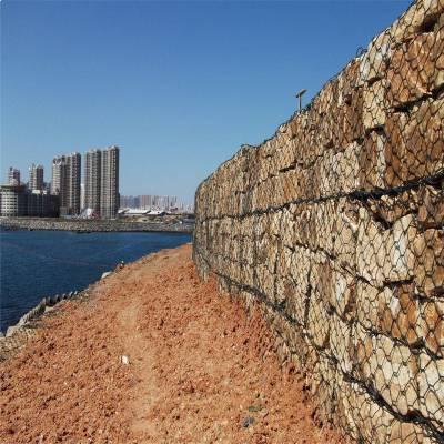 旺来河道石笼网厂家 生态石笼护坡 浆砌块石挡墙