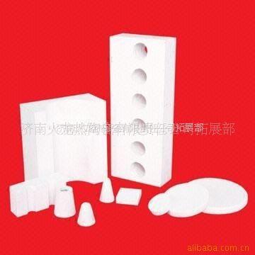 供应有色金属铸造专用锆铝型硅酸铝陶瓷纤维异形件