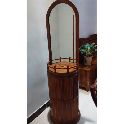 刺猬紫檀红木卧室家具搭配小件家具图片