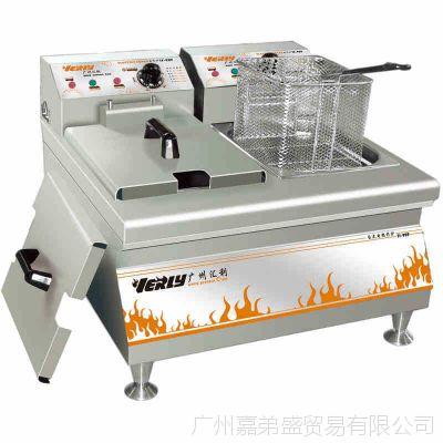 汇利TF-909台式电炸炉商用电炸炉商用电炸锅炸薯条机