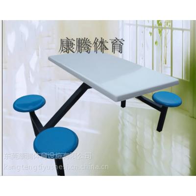 城区学生餐厅餐桌椅批发,陆丰8人圆凳餐桌椅定做,款式颜色定做康腾体育