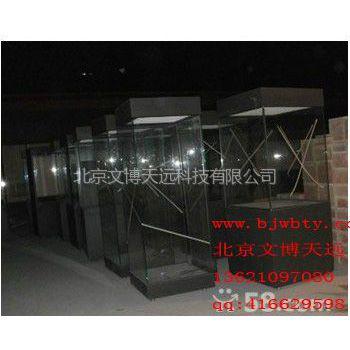 供应博物馆展柜 金属烤漆展台 展示柜 独立展柜13552058658