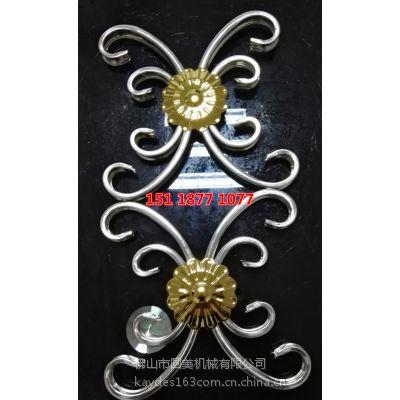 凯得斯弯花机厂家直销欧式弯花机不锈钢弯花模具