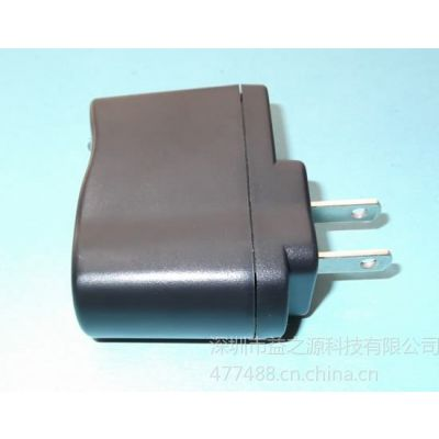 供应mp3手机充电器 usb充电器 5V500ma IC保护 usb电源适配器PSE认证