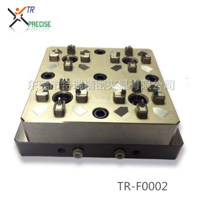 工厂直销 小型4头气动卡盘 精密气动四爪卡盘 兼容EROWA夹具