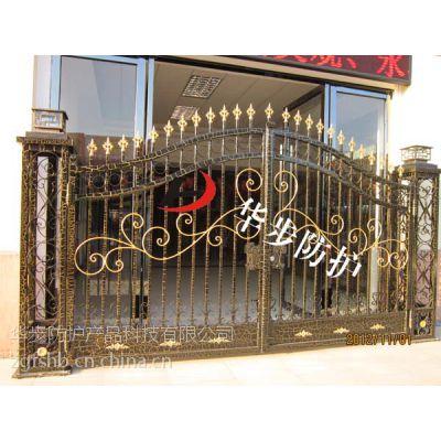 铝合金防护大门别墅大门,铝艺防盗窗,铝艺飘窗