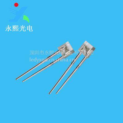 低价销售 2*3*4短脚白发蓝led灯珠发光二极管 背光高亮 永熙光电