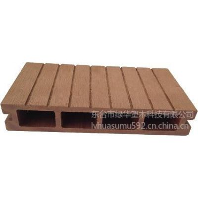 供应低碳环保可循环再利用的塑木新型材料 塑木地板