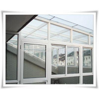 供应原厂直销 各式阳光房 德维诺断桥铝窗户 推拉式 玻璃顶阳光房
