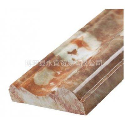 供应永宜 大理石材腰线 瓷砖电视背景墙框 大理石材腰线包边 装饰墙贴