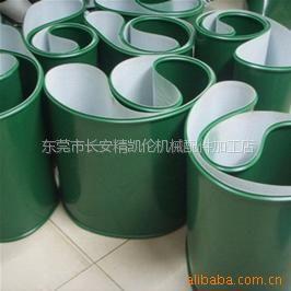 供应造纸设备配件输送带PVC输送带绿色防静电工业皮带,