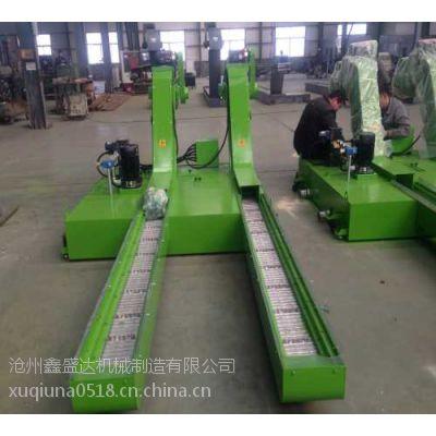 机床排屑机厂家-机床链板排屑机