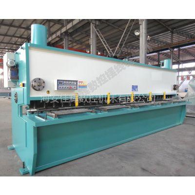 供应液压闸式裁板机,南通6米剪板机定制,QC11Y-25×6000 闸式剪板机